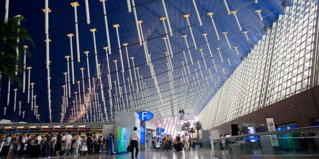 上海浦東機場辦理登機手續時間
