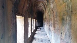 柏威夏寺僧人冥想的地方