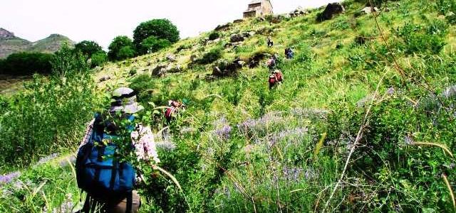 亞美尼亞9天徒步旅程 (二人成行,天天出發)