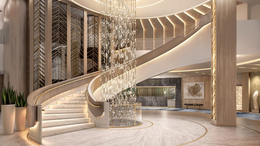 Vista Grand Staircase